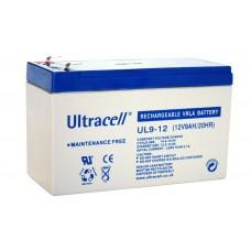 Μπαταρία Μολύβδου Ultracell 12V 9Ah